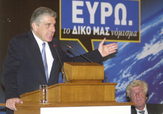 Ο υπουργός Οικονομικών Γιάννος Παπαντωνίου μιλά για το ευρώ