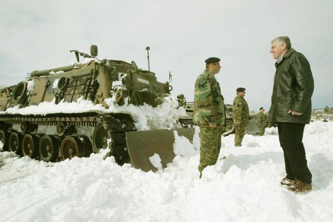 Ο κ. Παπαντωνίου ως υπουργός Εθνικής Άμυνας