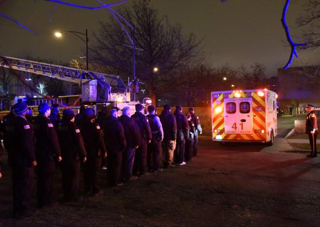Ασθενοφόρα στο Σικάγο