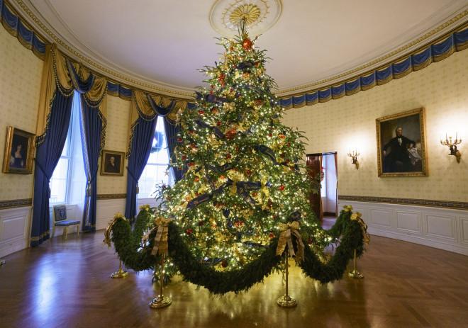 Το χριστουγεννιάτικο δέντρο στο Οβάλ Γραφείο