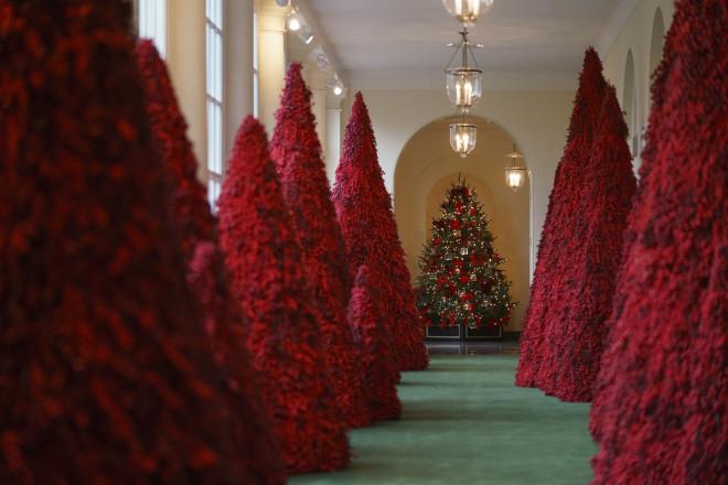 Τα κόκκινα δέντρα κλέβουν τις εντυπώσεις