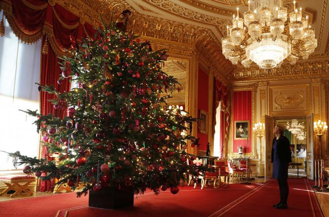Ένα ακόμα δέντρο στο παλάτι του Ουίνδσορ