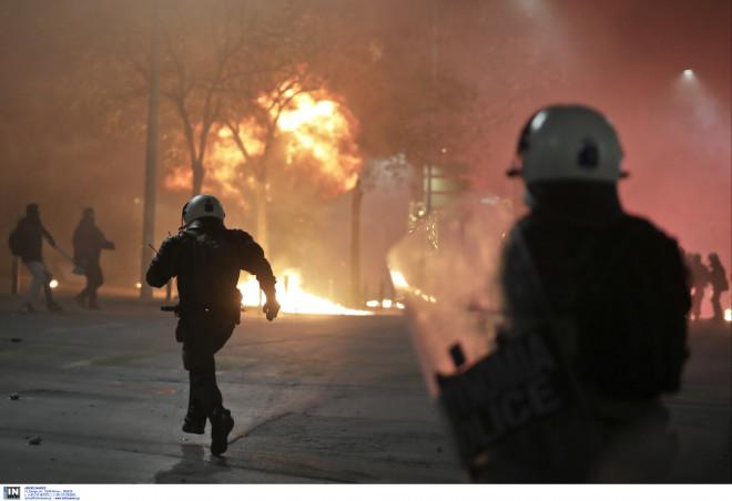 Αστυνομικές δυνάμεις στη Θεσσαλονίκη
