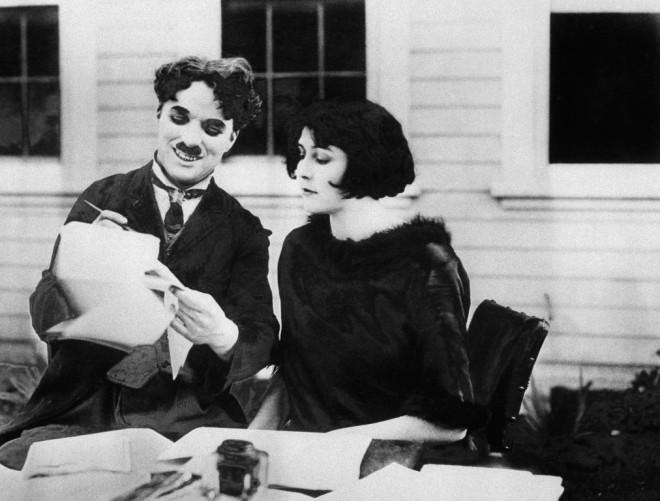 Ο Τσάρλι Τσάπλιν με τη Λίτα Γκρέι το 1924