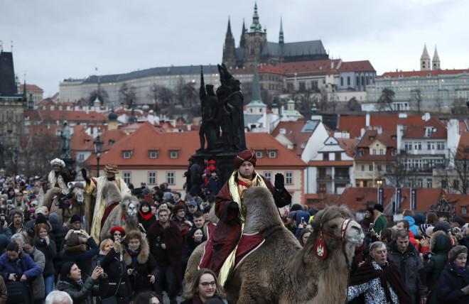 Οι τρεις βασιλιάδες στην Πράγα