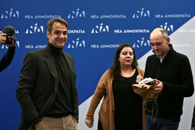 ΝΔ: Στον δημοσιογράφο Γιάννη Καντέλη το φλουρί