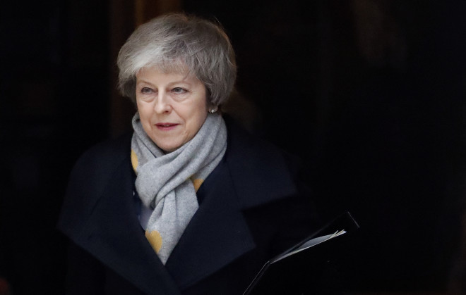 H Βρετανίδα πρωθυπουργός Τερέζα Μέι