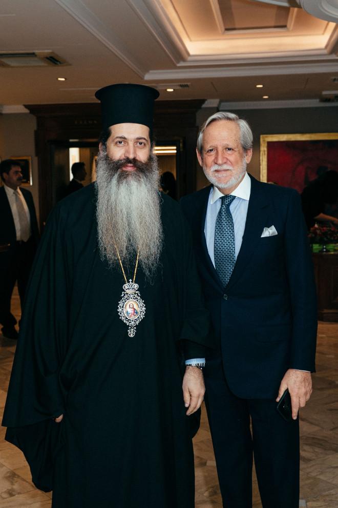 Εκπρόσωπος Αρχιεπισκόπου Επίσκοπος Θεσπιών κύριος Συμεών, Διονύσιος Κοδέλλας