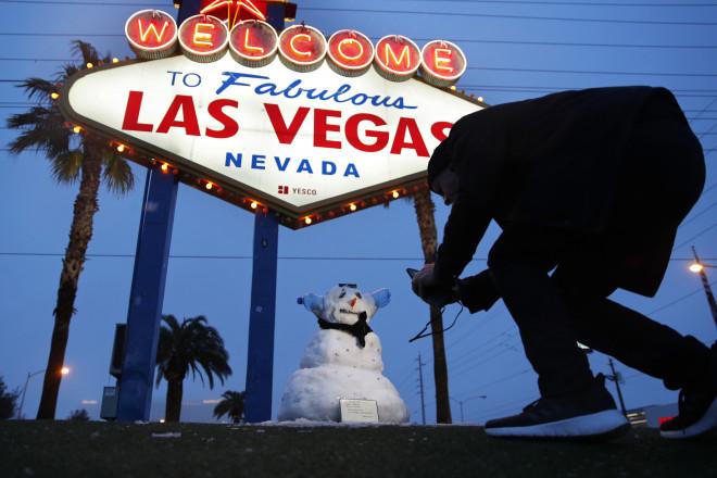 Χιόνια στο Λας Βέγκας