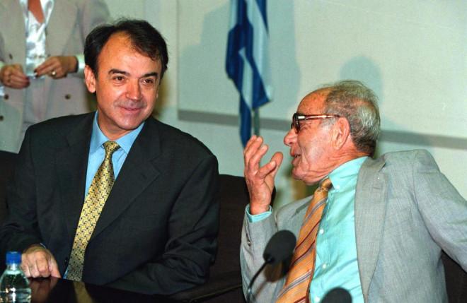 Τσοβόλας και Κουλουριάνος το 1999
