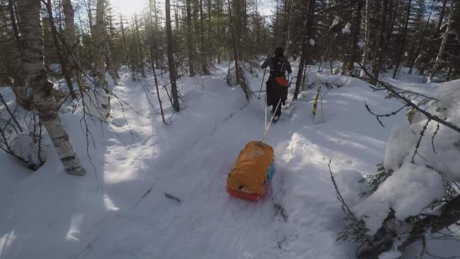 """Η Ινώ Στεφανή στον αγώνα δρόμου """"Rovaniemi 150"""" σε εξαιρετικά χαμηλές θερμοκρασίες"""