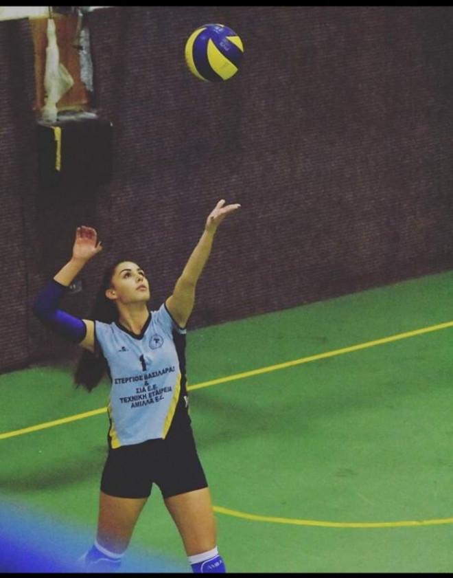 Η 18χρονη βολεϊμπολίστρια