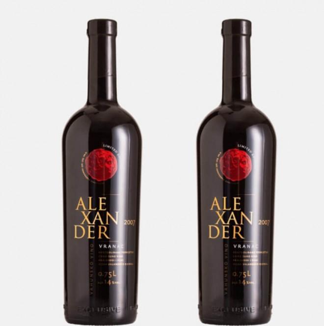 Τα σκοπιανικά κρασιά με τον Μέγα Αλέξανδρο στην ετικέτα