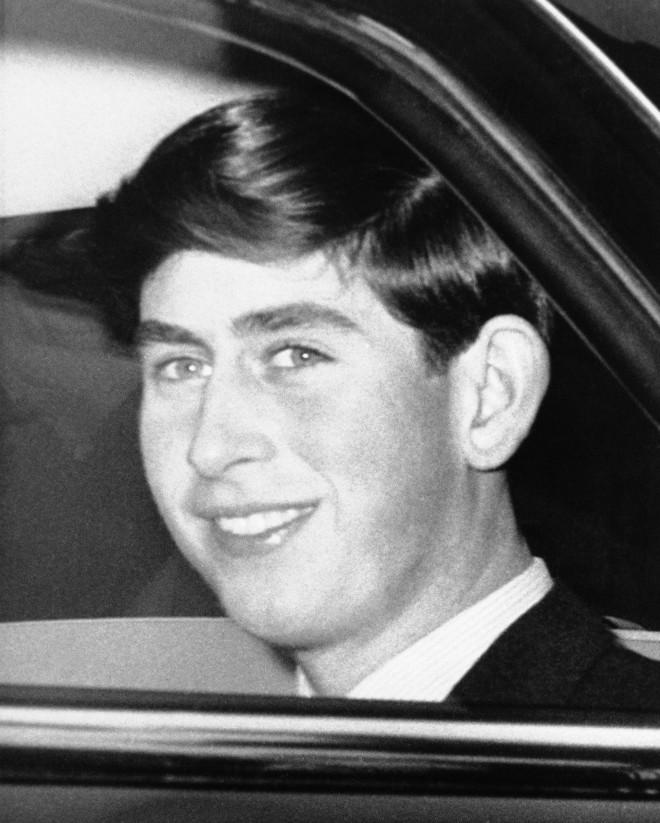Ο πρίγκιπας Κάρολος σε νεαρή ηλικία