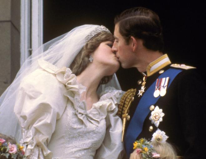Ο πρίγκιπας Κάρολος και ηΝταϊάνα μετά τον γάμο τους