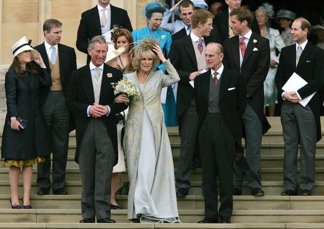 Ο γάμος του πρίγκιπα Καρόλου με την Καμίλα στις 9 Απριλίου 2005