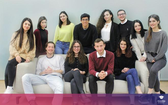 Η ομάδα τουThinkBiz Academy