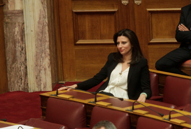 H βουλευτής του ΣΥΡΙΖΑ Νίνα Κασιμάτη