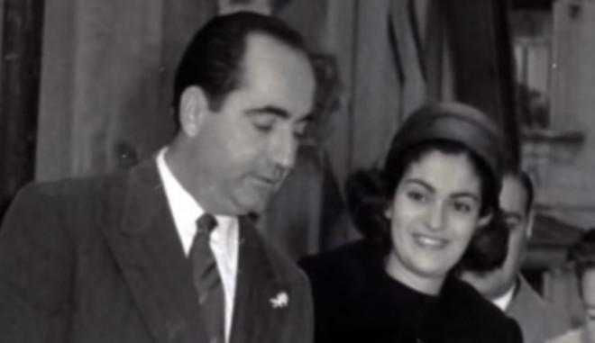 Κωνσταντίνος και Μαρίκα Μητσοτάκη
