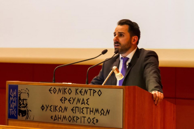 Υποψήφιος δήμαρχος Αγίας Παρασκευής, κ. Μουστόγιαννης