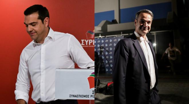 Τσίπρας - Μητσοτάκης μετά τις ευρωεκλογές