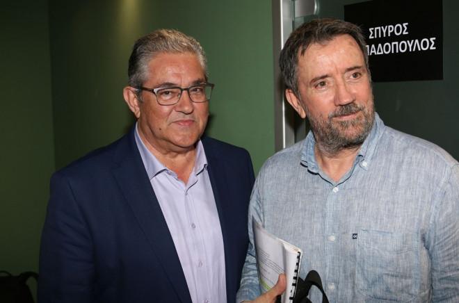 Κουτσούμπας και Παπαδόπουλος