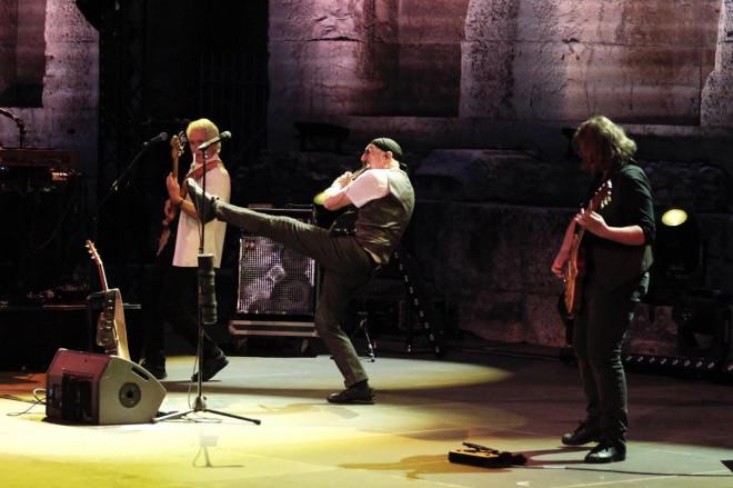 Συναυλία των Jethro Tull στο Ωδείο Ηρώδου Αττικού
