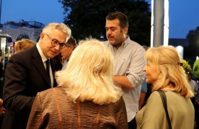 Ο Θ. Ρουσόπουλος σε εκδήλωση για εξωτερική πολιτική