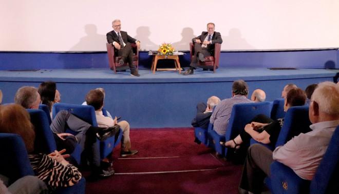 Ο Γ. Κουμουτσάκος σε εκδήλωση για την εξωτερική πολιτική
