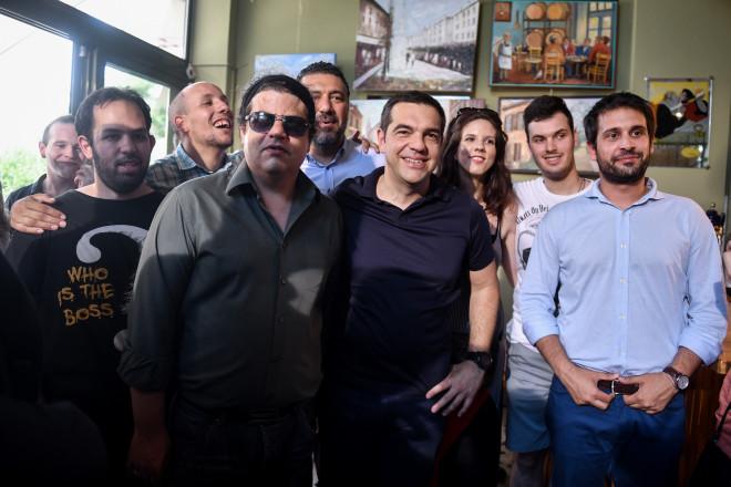 Αλέξης Τσίπρας συναντάται με νέους επιστήμονες και εκπροσώπους start ups