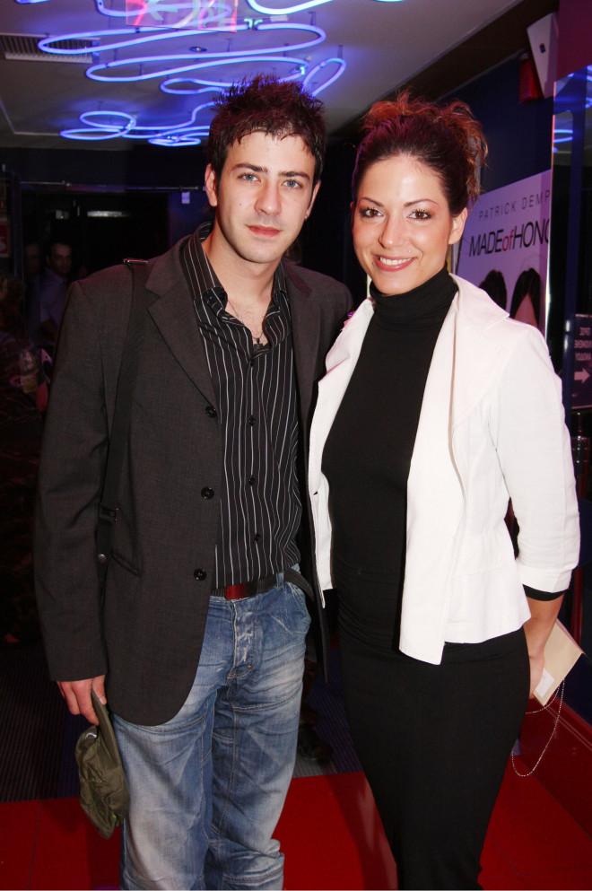 Ο 25χρονος (τότε) Πέτρος Μπουσουλόπουλος με την Ιωάννα Πηλιχού το 2008