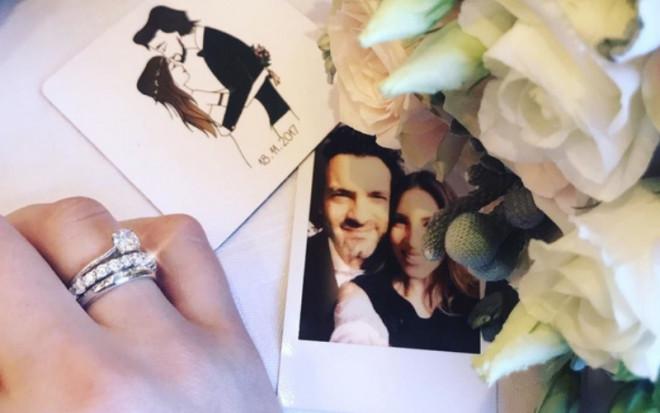 H Αθηνά Οικονομάκου στον γάμο της στο Γύθειο / Φωτογραφία: Instagram