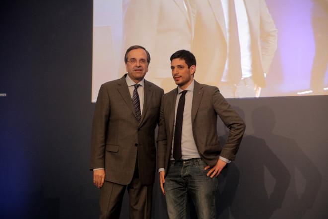 Κωνσταντίνος Κυρανάκης και Αντώνης Σαμαράς το 2014