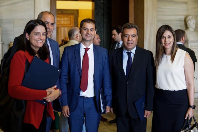 Φωτογραφίες υπουργικό συμβούλιο