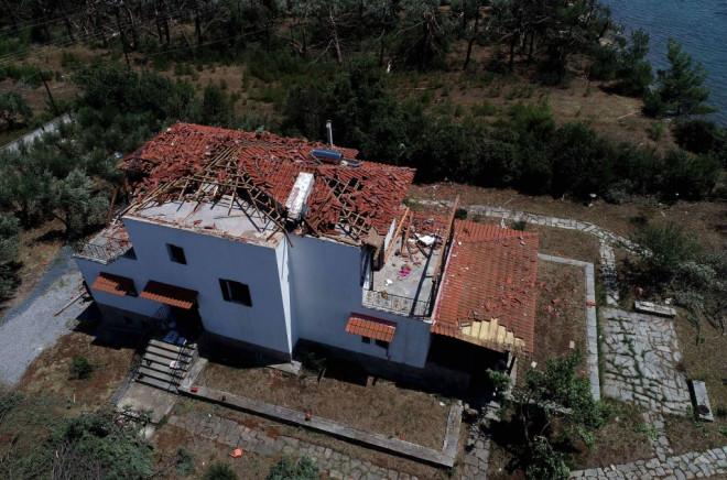 Καταστροφές στη Χαλκιδική