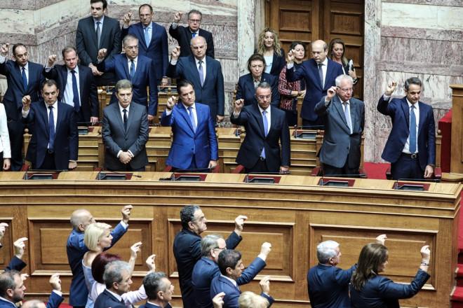 Ορκωμοσία Βουλής 2019