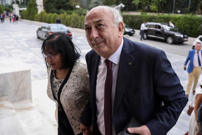 Ο Γιάννης Αμανατίδης και η σύζυγό του