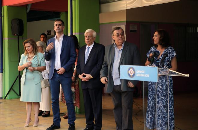 Παυλόπουλος - Μπακογιάννης σε αγιασμό