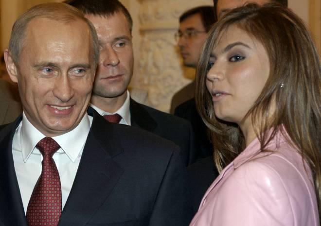 Ο Πούτιν με την Αλίνα Καμπάγιεβα