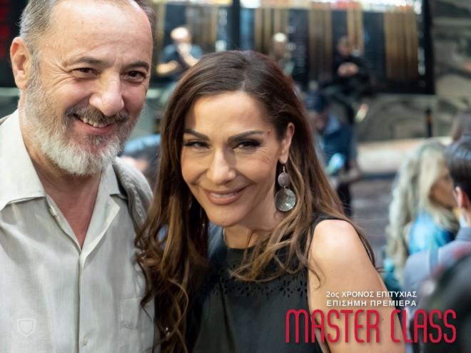 Η Δέσποινα Βανδή με τον Στέλιο Μάινα