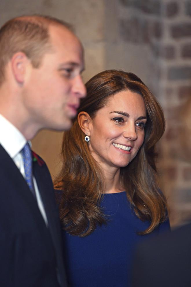 O  Πρίγκιπας William και η Δούκισσα του Cambridge