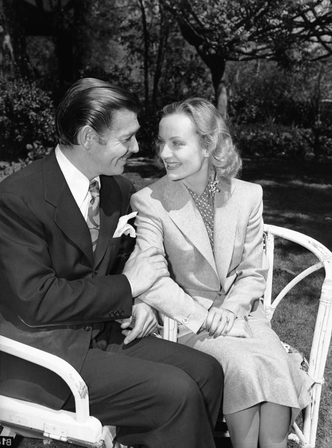 Η Carole Lombard και ο Clark Gable