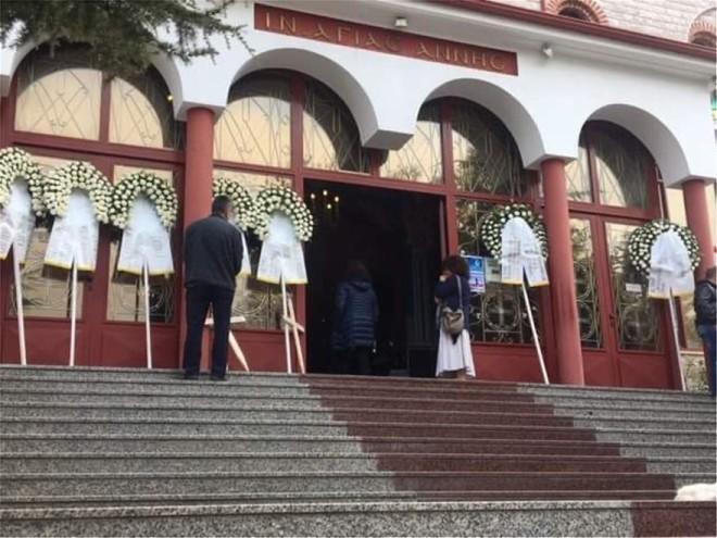 Ο Ιερός Ναός Αγίας Άννας Όπου Τελέστηκε Η Εξόδιος Ακολουθία Για Μάνα Και Κόρη Στην Κατερίνη
