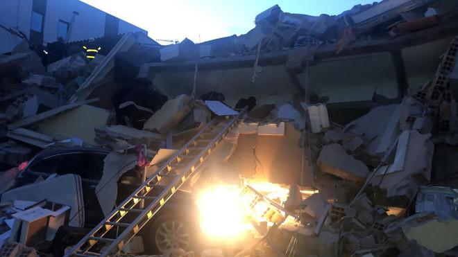 σεισμός Αλβανία