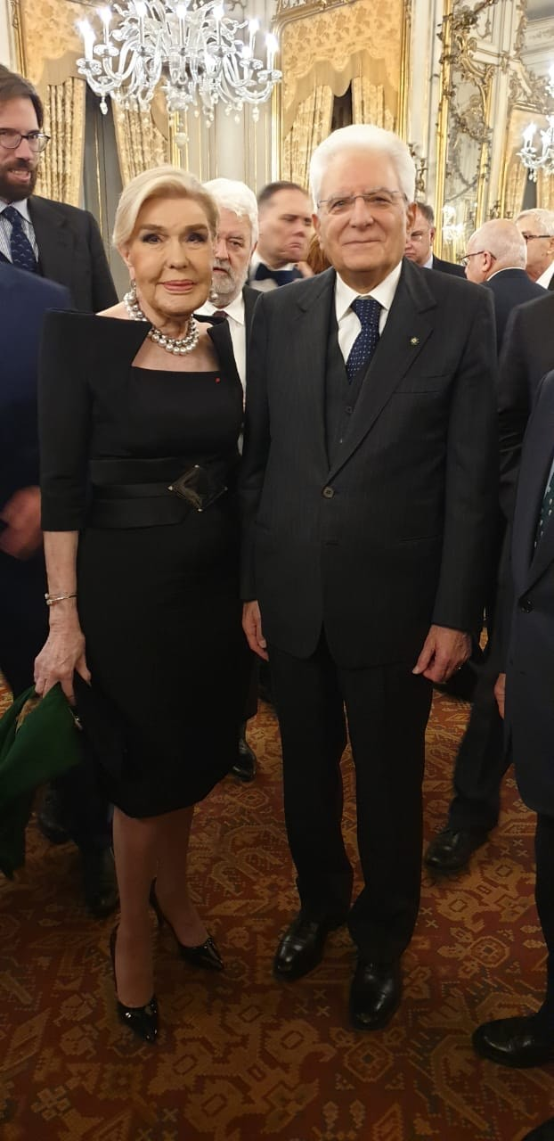 Μαριάννα Β. Βαρδινογιάννη, Sergio Mattarella