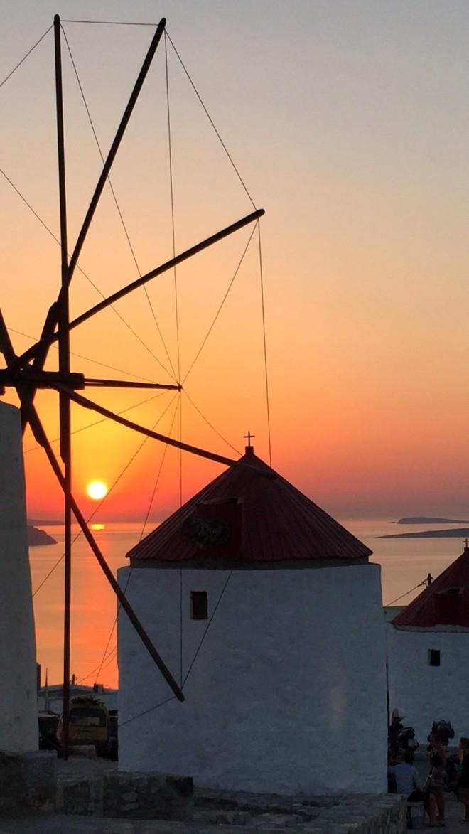 Astypalea sunset