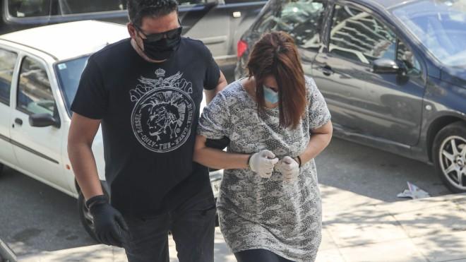 H 45χρονη σύζυγος του 49χρονου ταξιτζή και κατηγορούμενη για τη δολοφονία του