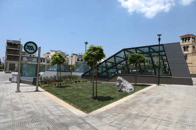 Σταθμοί Μετρό σε Αγία Βαρβάρα, Κορυδαλλό και Νίκαια