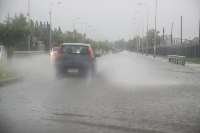 Kακοκαιρία - Πλημμύρες στον Εύοσμο Θεσσαλονίκης