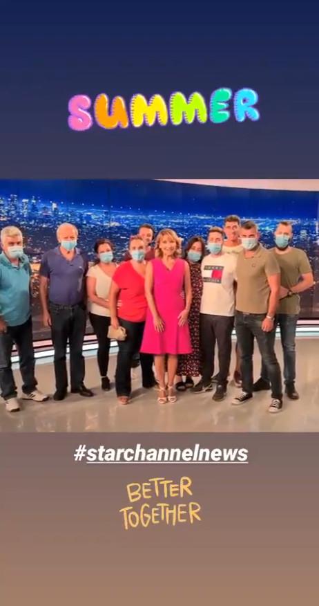 Μάρα Ζαχαρέα Tο τελευταίο κεντρικό δελτίο ειδήσεων του Star για τη σεζόν